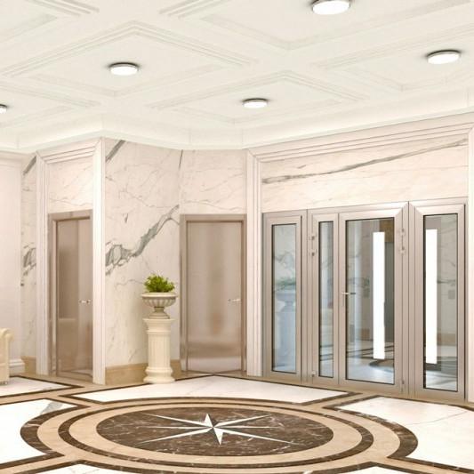 ЖК Кремлевские звезды, отделка, комната, квартира, коридор, холл